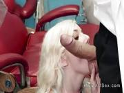 Large Dick Dentist Bangs Skinny Teen