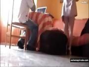Spanish Step Mom Seduces a Student