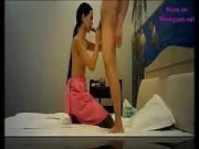 Long Hair Thai Hooker Gulp Sperm on Web Camera