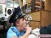 Busty latin police officer pussy ripped at the pawnshop