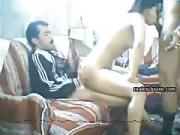 Arab amateur threesome with milf Nadia