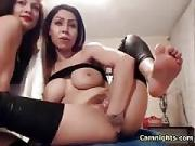 Girl Friend Fisting Her Vagina