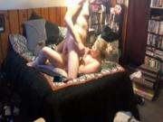 Chubby Girl Makes A Sextape With Her Nerdy BF