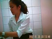 Hidden cam in thai office toilet 2
