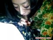 Vietnamese gf Blowing on a Small Dong