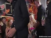 Hot Teens Pounded And Creamed in Public