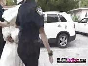 Pimp is Taken to Milf Police Personal Spot