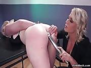 Lesbo Officer Anal Fucking Fair-haired
