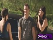 Swinger Babes Have a Lovely Shower Session