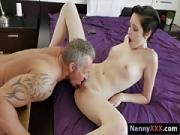 Teen nanny Cadey Mercury gets pounded by her boss for money