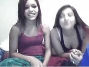 girls flashing on cam