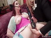 Fair-haired Ass Sex Fucks Big Breasts Auburn Sub