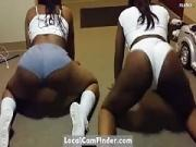 2 Homegrown Twerkers Gettin it IN!