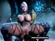 Monster dicks for booty Cartoon babes
