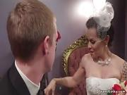 Married Tranny Butt Sex Bangs Her New Fiance