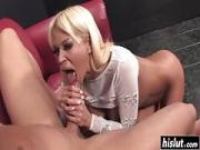 Cock thirsty blonde wants his cock