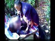 Chinese Grandpa Hires a Hooker Outside Webcam