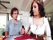 Dude bangs busty Latina gypsy