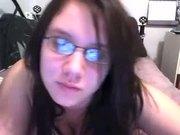 shy girl teases on cam