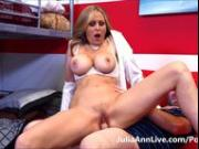 HOT TUTOR! Busty MILF Julia Ann Makes Her Student Study HARD!