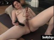 Sexy Savannah Having A Convulsing Orgasm