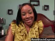 RealBlackExposed - She Takes Every Inch of Shorty Mac's Massive Cock