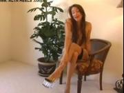 Celeste Stockings & Heels JOI
