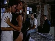 Italian Mature gangbanged and covered in cum