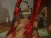Mistress Red Latex