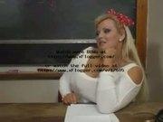 Hot Mature BBW Teacher Kirsten Halborg