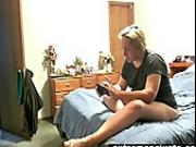 Hidden camera footage my toying Mum