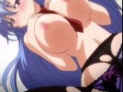 Sweet anime in stockings having sex