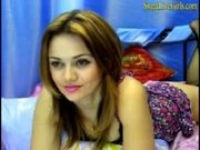Beautiful girl chatting and waiting for you.mp4