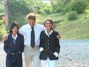 Lucy Belle & Angelika Black - Riding School 1