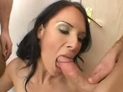 Jennifer Dark two anal creampies
