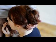Camille Crimson Smiles and Gives Beautiful Blowjob