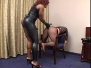Black Mistress Cruel Ass Stimulation Of Slave 144