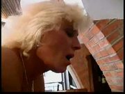 Blond Mature on table Part2