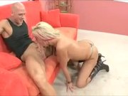 Tanya James with MrBigDick
