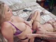 Milf mistress anal fucks tied up blonde
