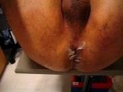 huge dildo ass fuck