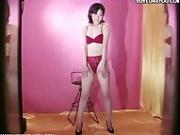Sexy Japanese models changing clothes