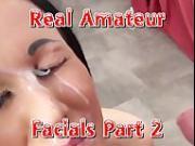 Real Amateur Facials Part 2