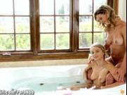 MommysGirl Cherie DeVille Lesbian Facesits with Teen
