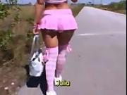 Teen Julia Bond pre-boob job