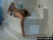 Alena gets fucked in the bath tub