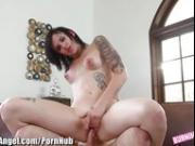 BurningAngel Punk Babysitter Rides Cock
