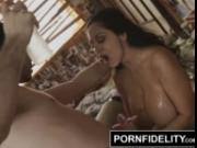 PORNFIDELITY Ava Addams Number One Fan is James Deen