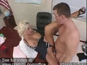 Puma Swede getting her pussy drilled at work