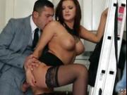 Hot director of high heels and nylons Anna Polina